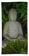 Zen Buddha Beach Towel