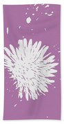 Dandelion In Love Beach Towel