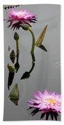 Zen Lilies Beach Towel