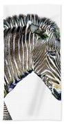 Zephyrus Zebra IIi Beach Towel