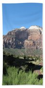 Zion Canyon View Beach Towel