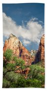 Zion Court Of The Patriarchs Beach Towel