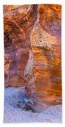 Zion Gullies Beach Towel