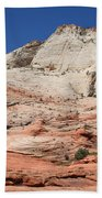 Zion Park - Rock Texture Beach Towel