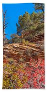 Zion Reds Beach Towel