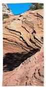 Zion Ripples Beach Towel