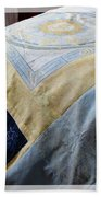 Zodiac Patchwork Quilt Beach Towel by Barbara Griffin