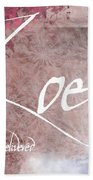 Zoe - Life Delivered Beach Sheet