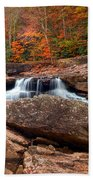 Autumn Leaves At The Mill Beach Towel