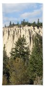 Canadian Rocky Mountain Hoodoos Bc Beach Towel