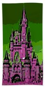 Castle Of Dreams Beach Towel