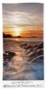 Golden Days Beach Towel
