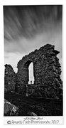 Llanddwyn Island Ruins Beach Towel