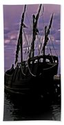 Notorious The Pirate Ship 5 Beach Towel