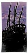 Notorious The Pirate Ship 5 Beach Sheet