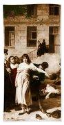 Pitie-salpetriere Hospital, 1795 Beach Towel by Photo Researchers