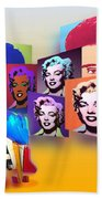 Pop Art Pop Up Beach Towel