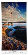 Sunset On The Marker Beach Towel