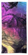When The Night Comes Beach Towel by Linda Sannuti