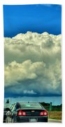 001 Grand Island Bridge Series  Beach Towel