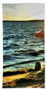 001 Natures Therapeutic Visual Music Series Beach Towel