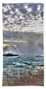 0018 View Of Horseshoe Falls From Terrapin Point Series Beach Towel