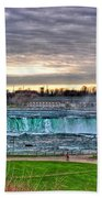 002 View Of Horseshoe Falls From Terrapin Point Series Beach Towel