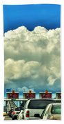 003 Grand Island Bridge Series  Beach Towel
