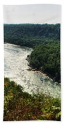 003 Niagara Gorge Trail Series  Beach Towel