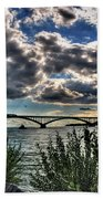 003 Peace Bridge Series II Beautiful Skies Beach Towel