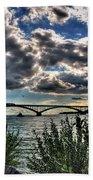 003 Peace Bridge Series II Beautiful Skies Beach Sheet