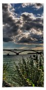 004 Peace Bridge Series II Beautiful Skies Beach Towel