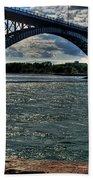 005 Peace Bridge Series II Beautiful Skies Beach Towel