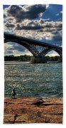 007 Peace Bridge Series II Beautiful Skies Beach Towel