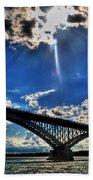 008 Peace Bridge Series II Beautiful Skies Beach Towel