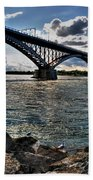 009  Peace Bridge Series II Beautiful Skies Beach Towel