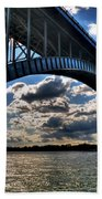 012  Peace Bridge Series II Beautiful Skies Beach Towel