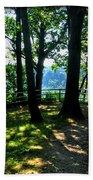 012b Niagara Gorge Trail Series  Beach Towel