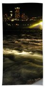 013 Niagara Falls Usa Rapids Series Beach Towel