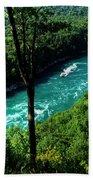 013 Niagara Gorge Trail Series  Beach Towel