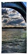 013 Peace Bridge Series II Beautiful Skies Beach Towel