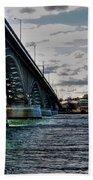 014 Peace Bridge Series II Beautiful Skies Beach Towel