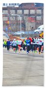 019 Shamrock Run Series Beach Towel