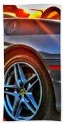 02 Ferrari Sunset Beach Towel
