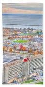 020 Series Of Buffalo Ny Via Birds Eye Adams Mark Beach Towel