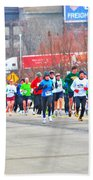 020 Shamrock Run Series Beach Towel