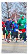 028 Shamrock Run Series Beach Towel