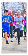 029 Shamrock Run Series Beach Towel