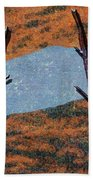 0361 Abstract Landscape Beach Towel