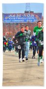 039 Shamrock Run Series Beach Towel